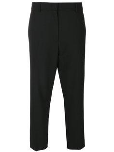 укороченные прямые брюки  Jil Sander