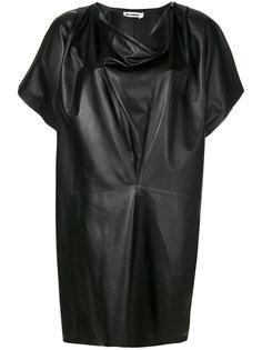 платье с вырезом-хомут  Jil Sander