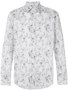 рубашка с цветочным узором Etro