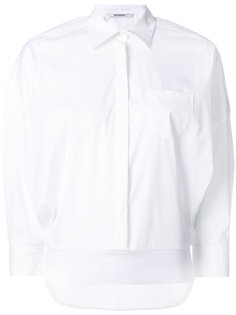 рубашка с асимметричным краем  Neil Barrett