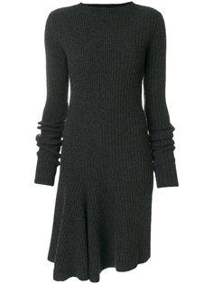 ребристое трикотажное платье Ports 1961