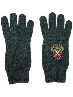 перчатки Heraldic Sicilia Dolce & Gabbana