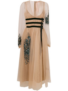 сетчатое платье  Nº21