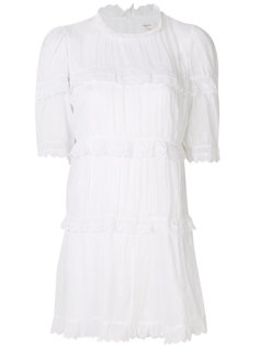 ярусное платье мини  Isabel Marant Étoile