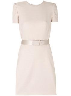 платье мини с поясом  Alexander McQueen
