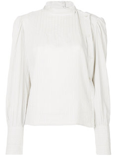 рубашка со складками  Isabel Marant Étoile