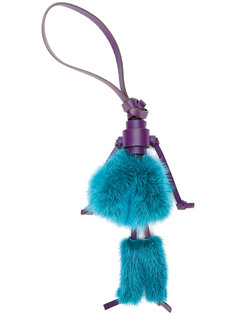 брелок для ключей с помпонами Elena Ghisellini