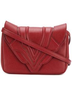сумка через плечо с простроченными панелями Elena Ghisellini