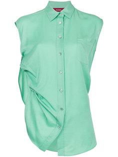 драпированное платье-рубашка Sies Marjan