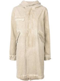 джинсовое пальто с капюшоном  Mr & Mrs Italy
