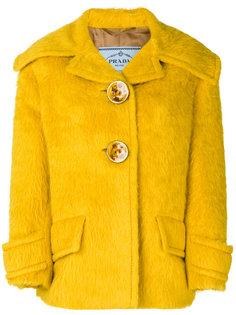 куртка с широким воротником Prada
