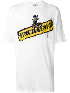 футболка с нашивкой якоря Faith Connexion