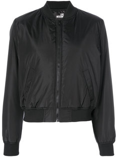 куртка-бомбер с вышивкой  Love Moschino