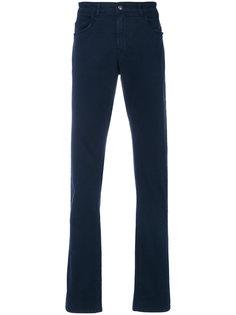 джинсы прямого кроя Fay