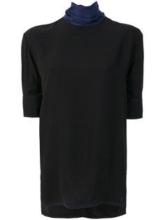 блузка с воротником-стойкой  Marni