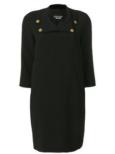 платье с пуговицами на воротнике  Boutique Moschino