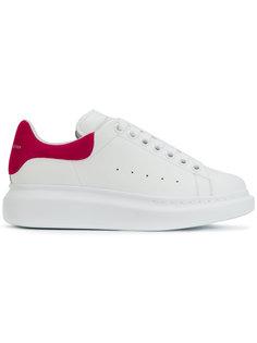 lace-up sneakers with heel Alexander McQueen