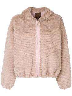 меховая куртка на молнии Liska