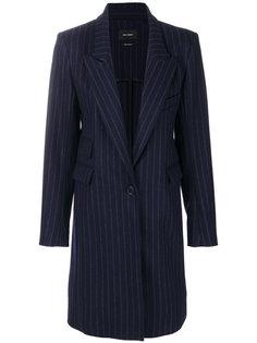 пальто в тонкую полоску Loren Isabel Marant