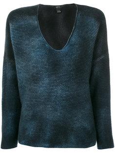 свитер с широким вырезом Avant Toi