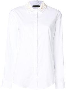 рубашка с декором на воротнике Fabiana Filippi
