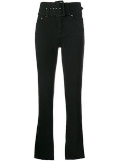 джинсы с завышенной талией Mm6 Maison Margiela