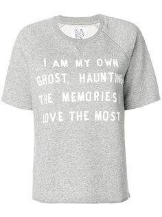 футболка с надписью Zoe Karssen