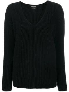 кашемировый трикотажный свитер Tom Ford