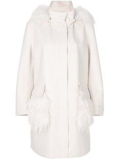 классическое пальто на молнии Ermanno Scervino
