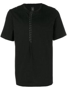 футболка с контрастной строчкой Oamc