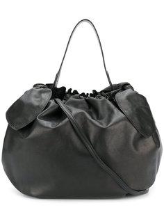 присборенная сумка-тоут с бантами Simone Rocha