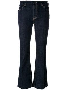 укороченные джинсы Real Prada