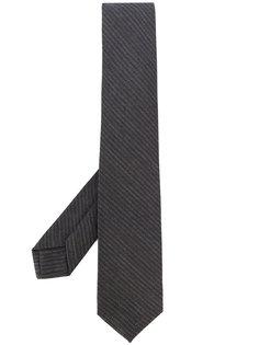 галстук в диагональную полоску Barba