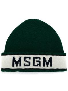 шапка с логотипом MSGM