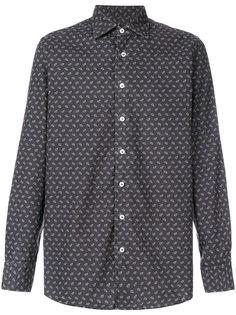 рубашка с мелким принтом Lardini