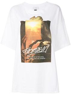 футболка с графическим принтом Facetasm