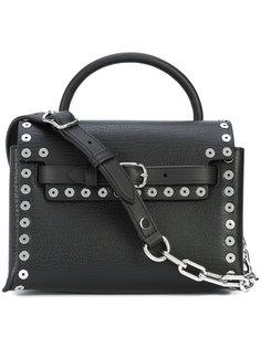 сумка на плечо на цепочке с заклепками Alexander Wang