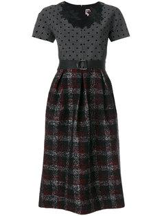 платье с комбинированными панелями IM Isola Marras