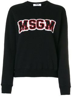 джемпер с логотипом  MSGM