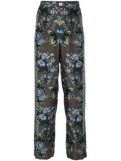 пижамные брюки с цветочным принтом  F.R.S For Restless Sleepers