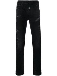 джинсы кроя слим Relmu  Marcelo Burlon County Of Milan
