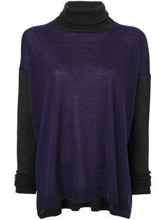 трикотажный свитер-водолазка Les Copains