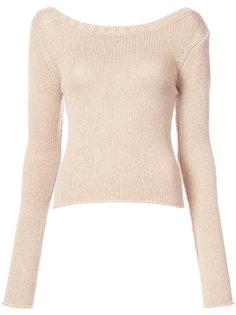 свитер с отделкой на спине Derek Lam 10 Crosby