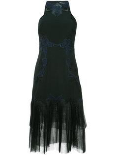 платье миди с отделкой Jonathan Simkhai