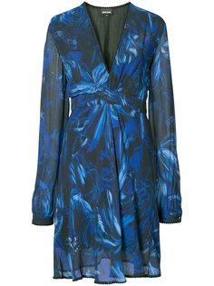 платье с V-образным вырезом Just Cavalli