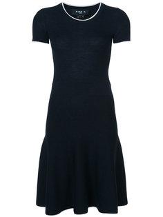 платье с поясом Paule Ka