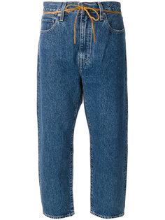укороченные джинсы со шнурком  Levis: Made & Crafted
