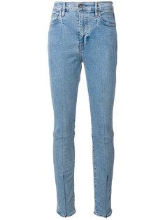джинсы скинни с молниями на манжетах  Levis: Made & Crafted