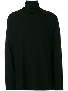 свитер с отворотной горловиной Yohji Yamamoto
