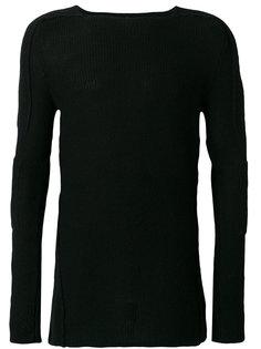 свитер с рукавами-митенками Masnada